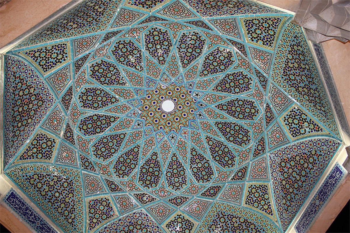 سقف قبر حافظ