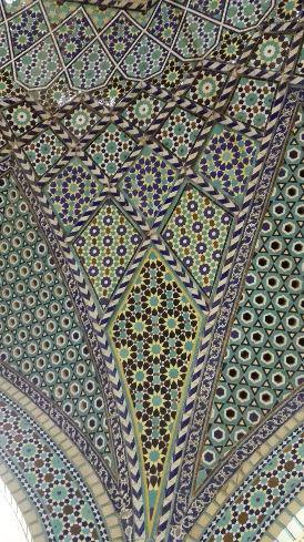 Tiles Of Saadi Tomb