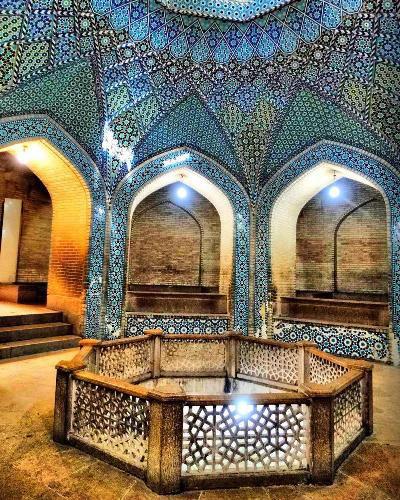 Fish Pond In Saadi'S Tomb