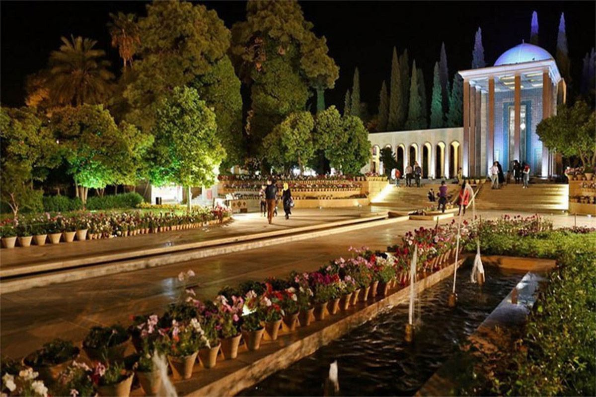 Tomb Of Saadi Area