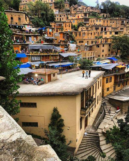 Houses In Masouleh Village
