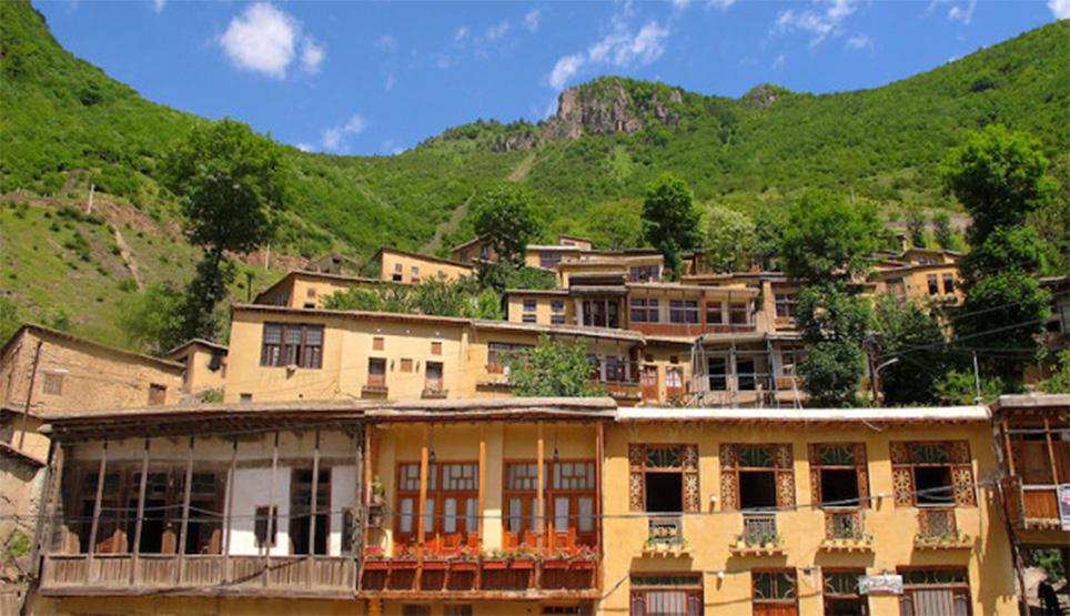 Houses In Masouleh