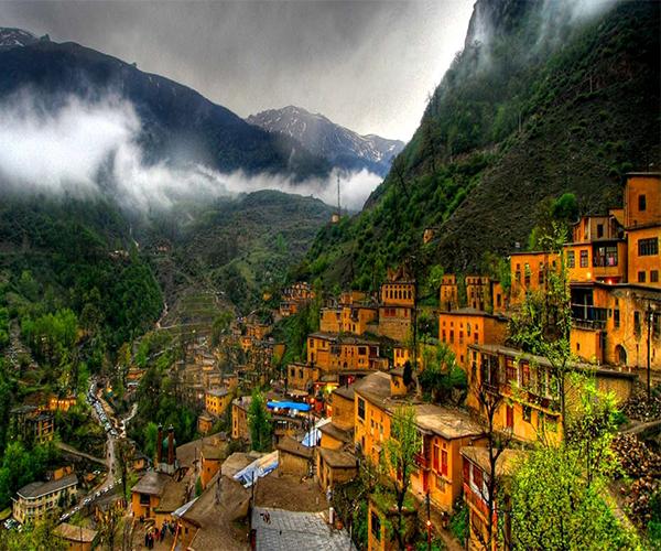 Masouleh village in Iran