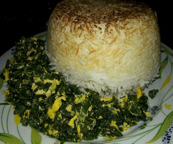 Sirabij stew is Iranian food