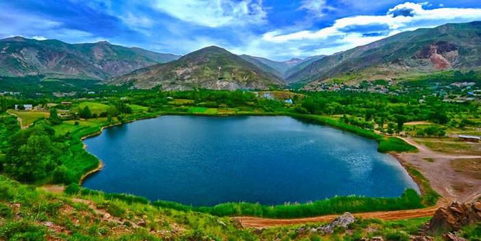 دریاچه ولشت در مازندران