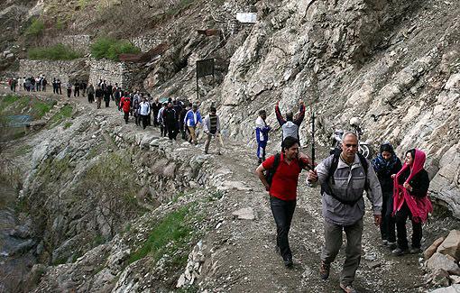 کوهنوردی در درکه