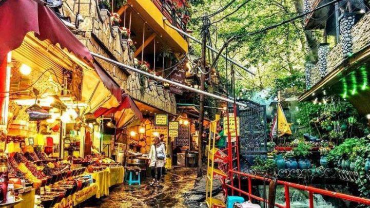 مغازهها در درکه تهران