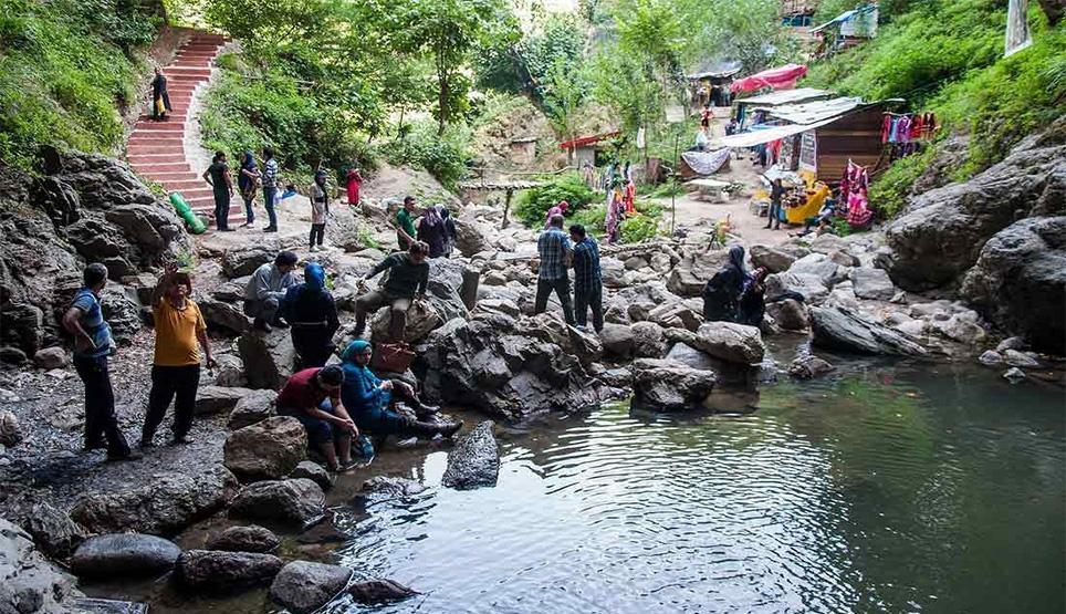 آبشار دودوزن در استان گیلان