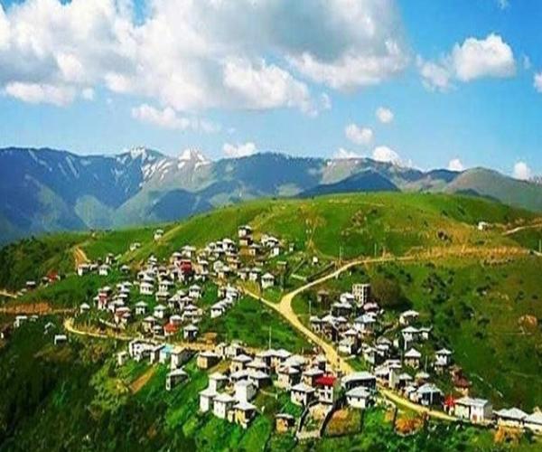 روستای گرسماسر در مازندران