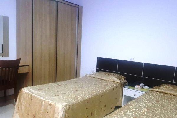 اتاق دو تخته تویین در هتل کوثر
