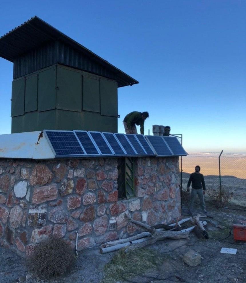 ساختمان محیطبانی پلنگ دره