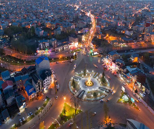 شهر صومعه سرا در استان گیلان