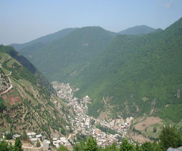 روستای زیارت در استان گلستان