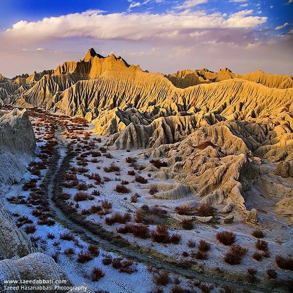 کوههای مریخی در چابهار