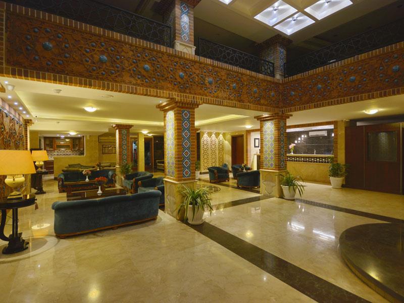 لابی هتل ارگ در شیراز