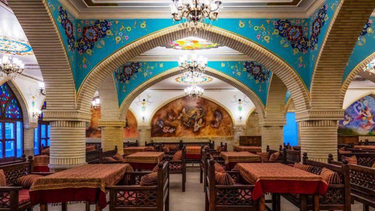 رستوران هتل آریانا