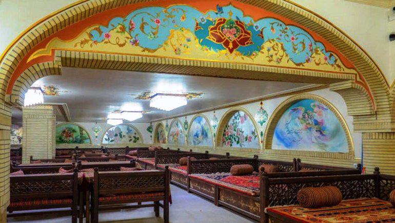رستوران هتل آریانا شیراز