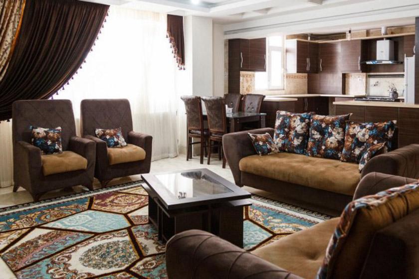 دو خوابه چهار تخته در هتل آرنیکا شیراز