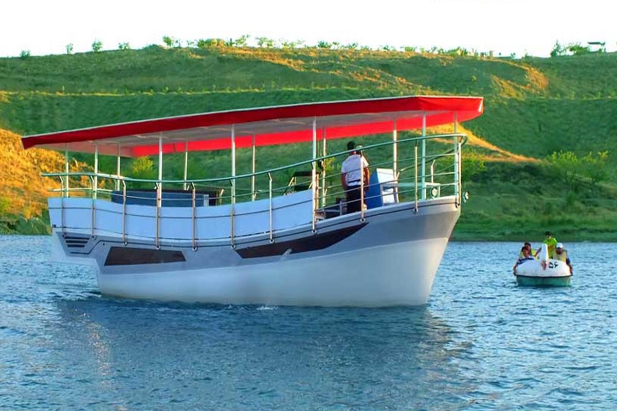 قایق سواری در چالیدره