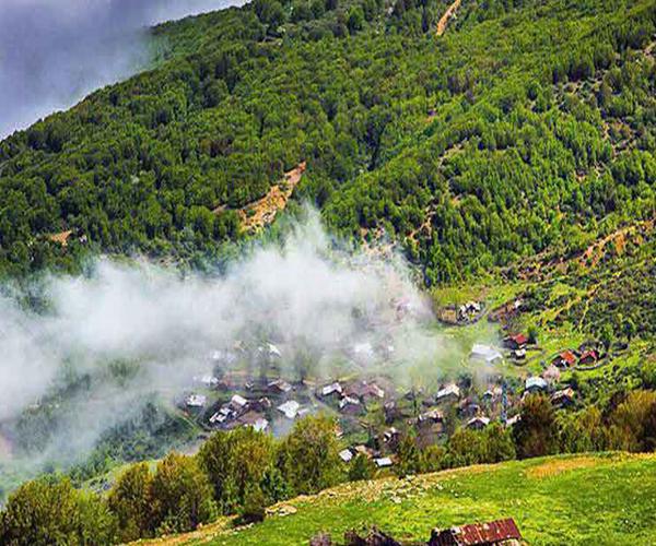 روستای داماش در استان گیلان