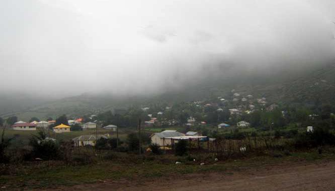 مه در روستای داماش