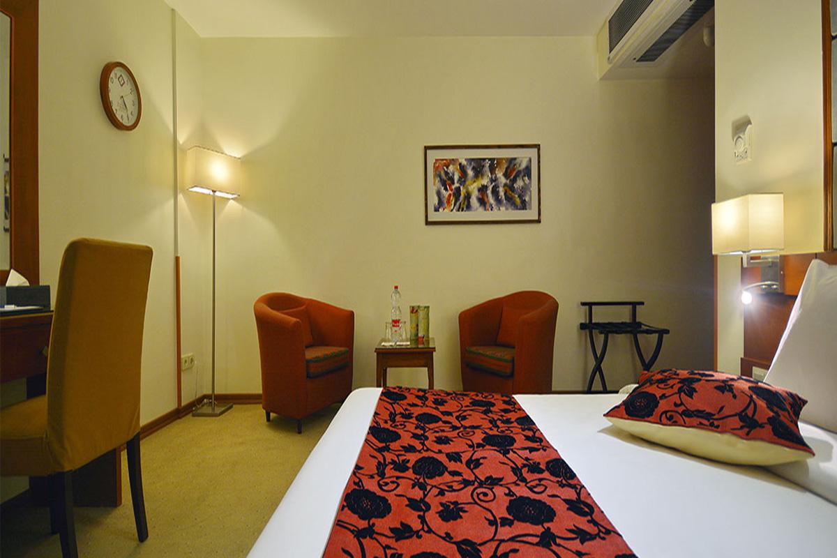 اتاق یک تخته دو نفره هتل الیزه شیراز