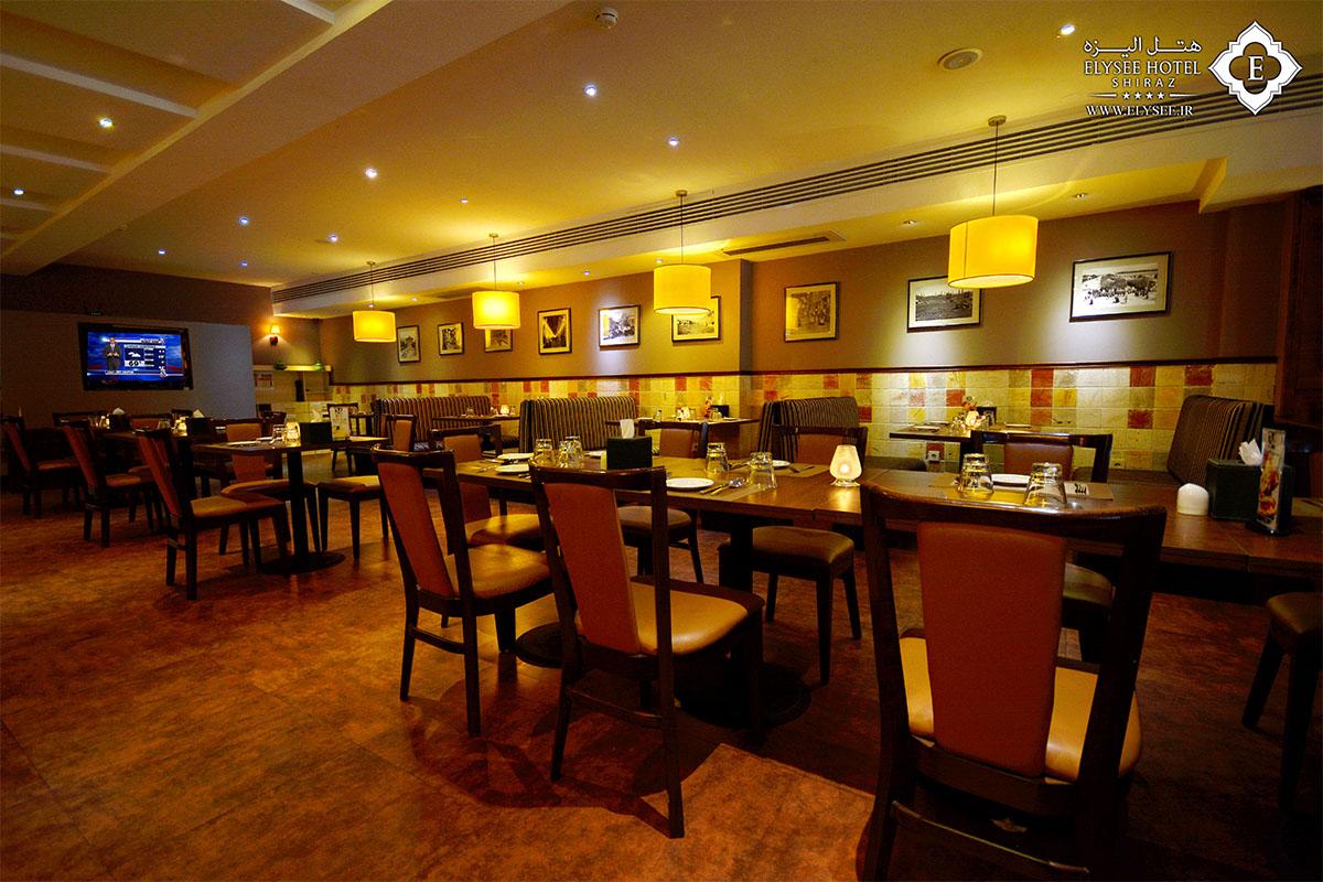 رستوران مارلین هتل الیزه شیراز