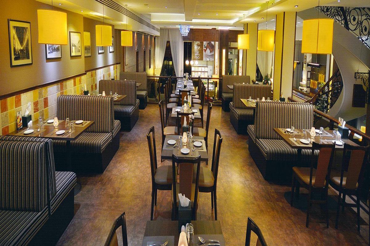 رستوران مارلین در هتل الیزه شیراز