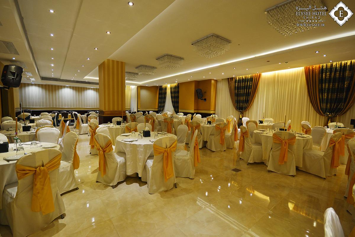 تالار زمرد در هتل الیزه شیراز