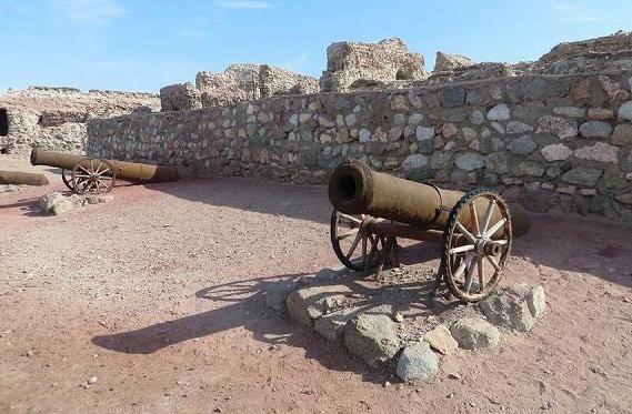قلعه پرتغالیها در جزیره هرمز