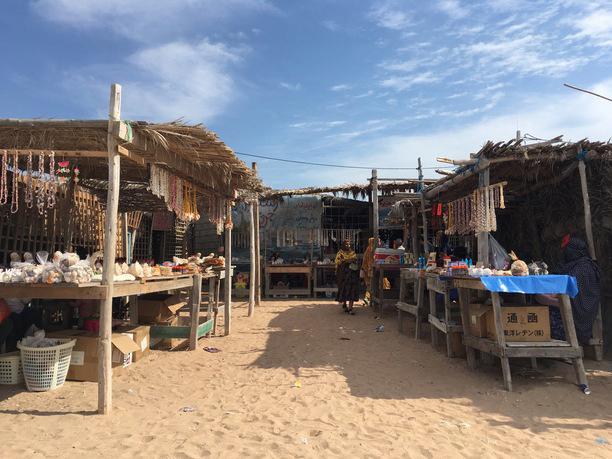 بازارچه صنایع دستی جزیره هرمز
