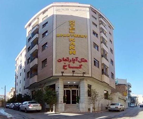 هتل آپارتمان کاخ شیراز