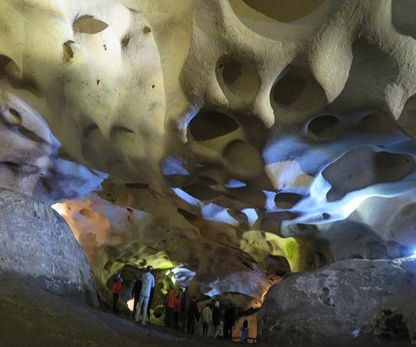 غار کرفتو و زیباییهای آن در کردستان