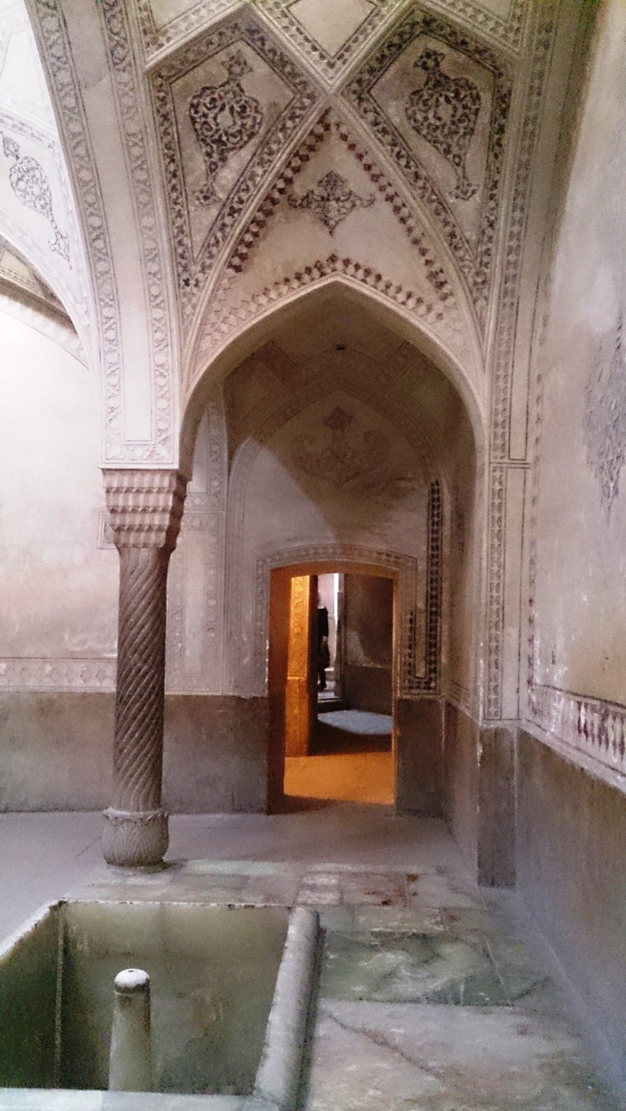 نمایی از حمام ارگ کریم خان شیراز