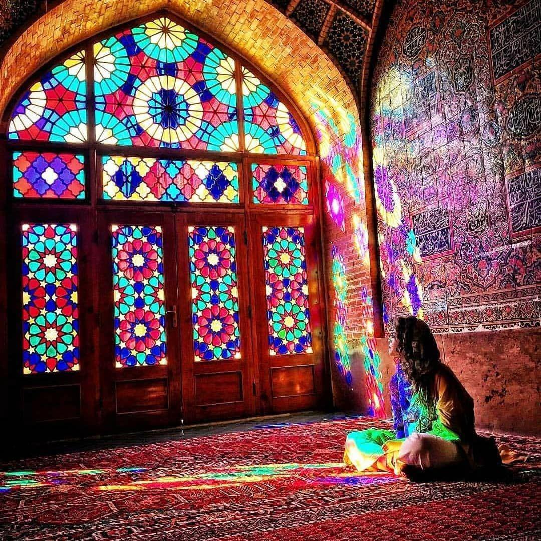 مسجد صورتی در شیراز