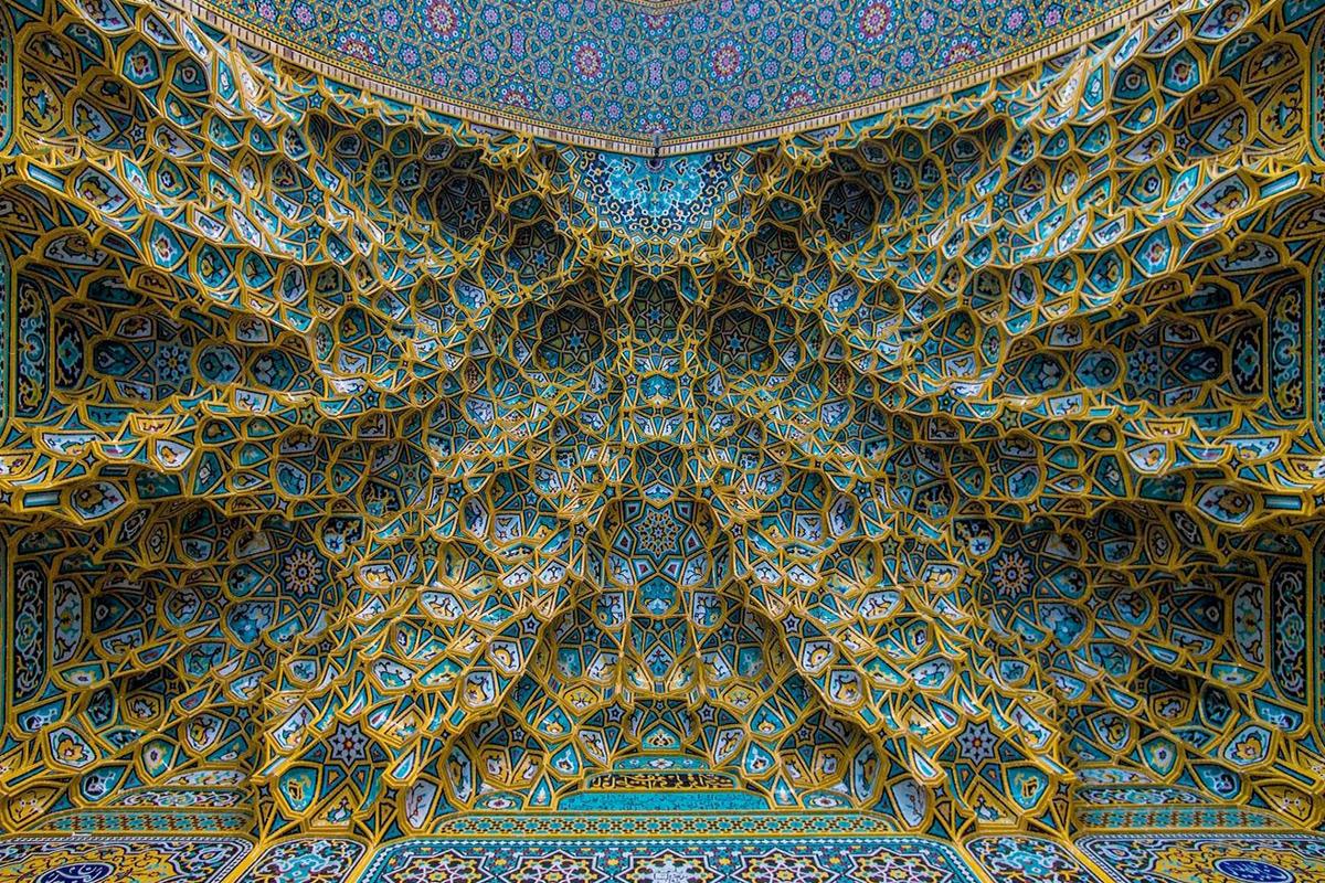 ورودی مسجد نصیرالملک