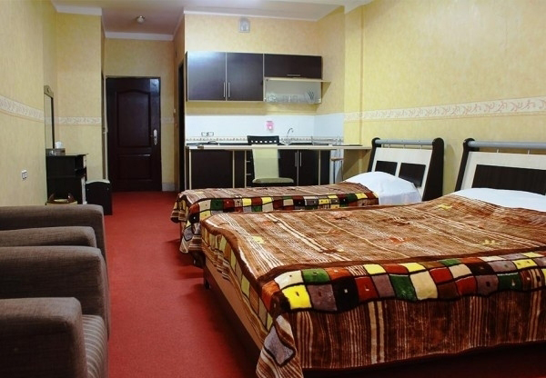 اتاق کانکت چهار تخته هتل صدرا