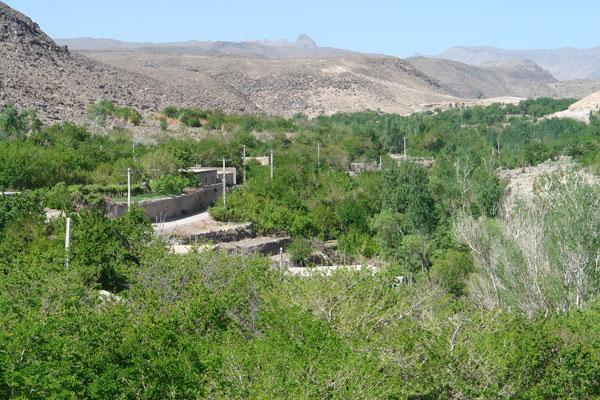 روستا تمین در سیستان و بلوچستان