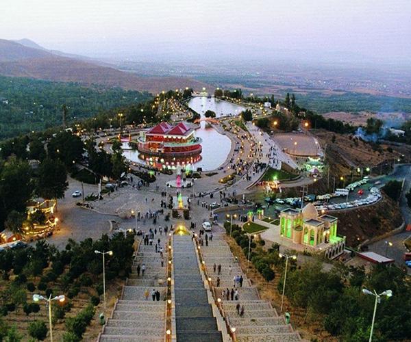 تپه عباس آباد در همدان
