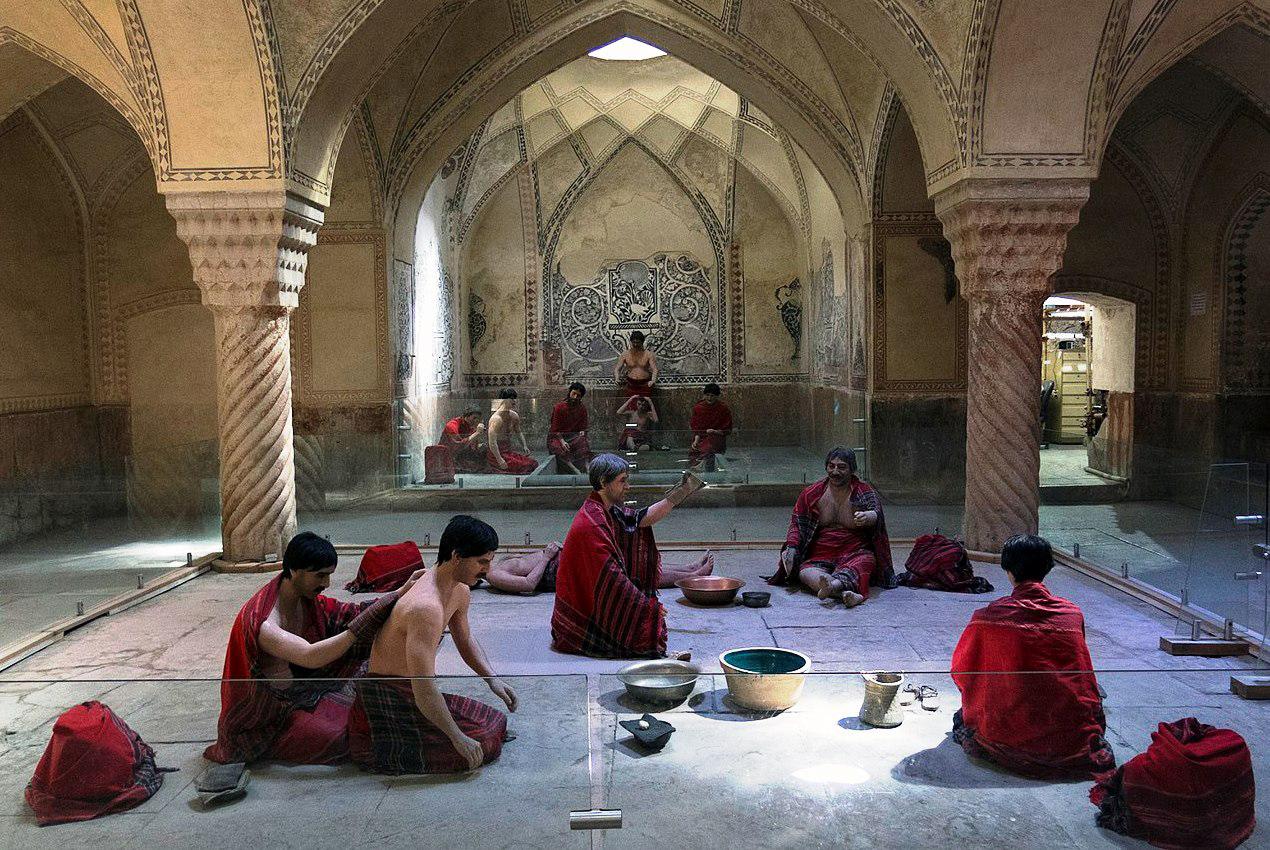 مجسمههای مردم قدیم شیراز