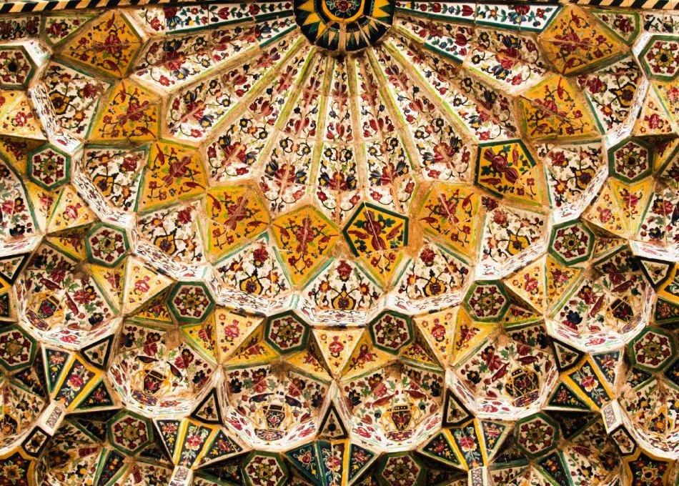 کاشی کاریهای مسجد وکیل شیراز