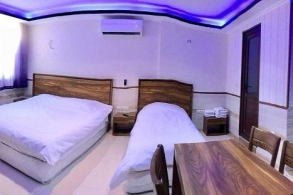 اتاق سه تخته هتل یورد