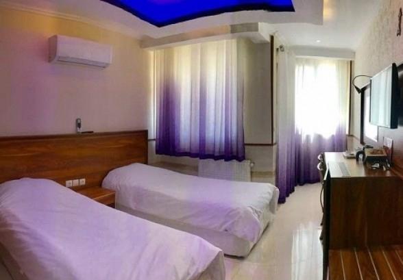 اتاق دو تخته هتل یورد شیراز