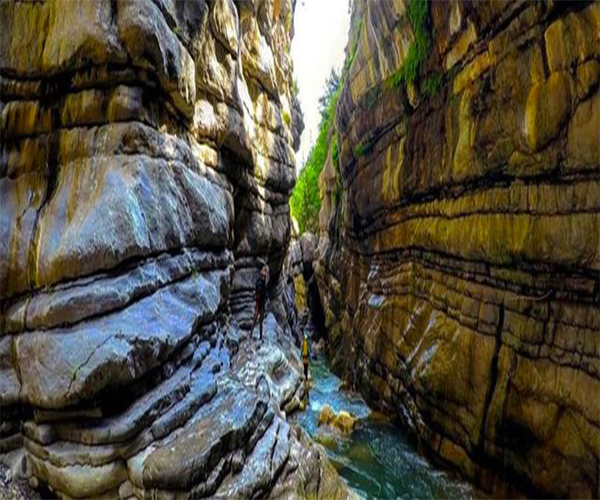 دره چاکرود در استان گیلان