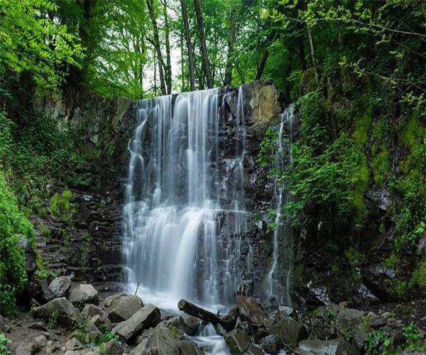 آبشار لونک در گیلان