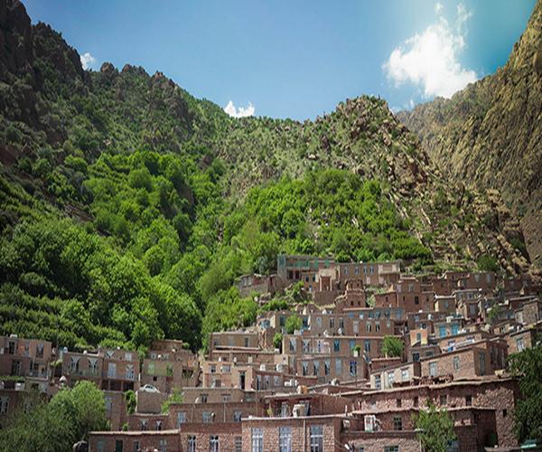 روستای نگل در کردستان