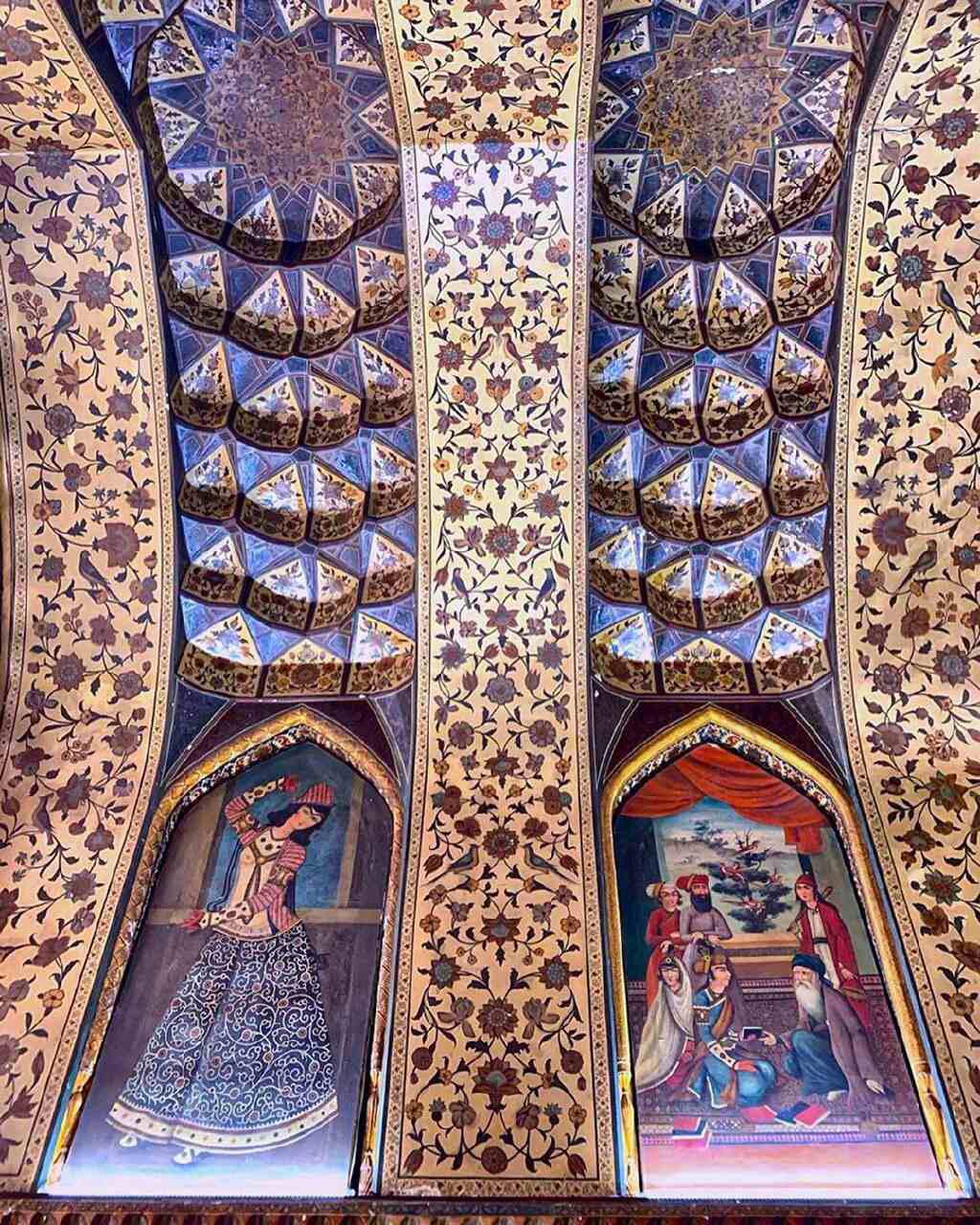 سقف موزه پارس شیراز