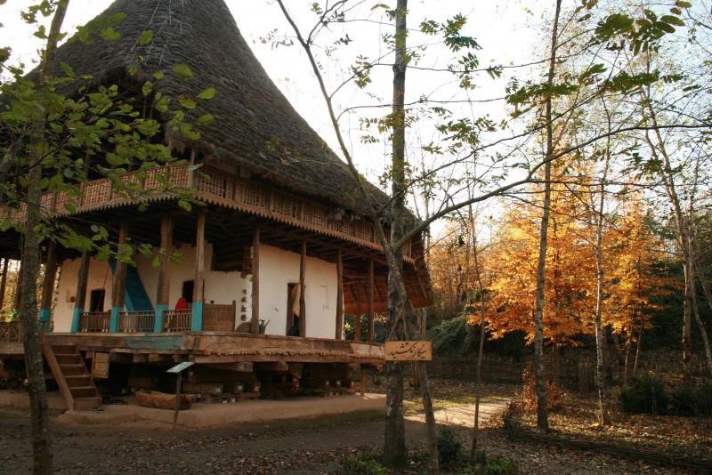 موزه میراث روستایی در پارک سراوان