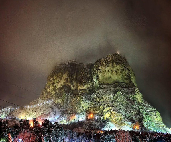 تفریح آخر هفته در کوه صفه اصفهان