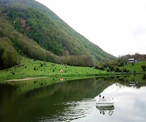 دریاچه ویستان بره سر در استان گیلان
